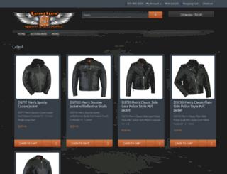 philsleather.com screenshot