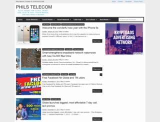 philstelecom.blogspot.com screenshot