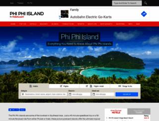 phiphi.phuket.com screenshot