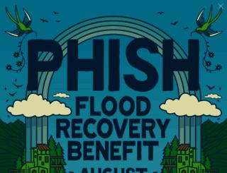 phish.com screenshot