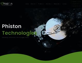 phiston.com screenshot