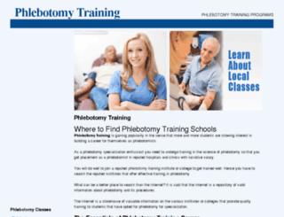 phlebotomy-training.us screenshot
