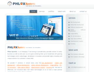 phloxsystems.com screenshot