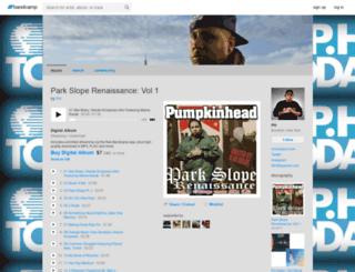 phmcmi.bandcamp.com screenshot
