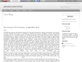 phobicidol1932.wikidot.com screenshot