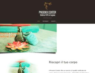 phoenix-center.ch screenshot
