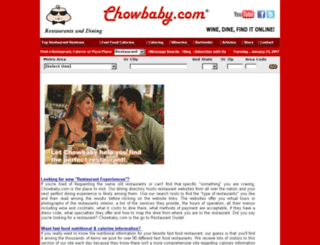 phoenix.chowbaby.com screenshot