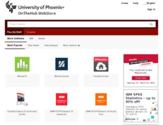 phoenix.onthehub.com screenshot