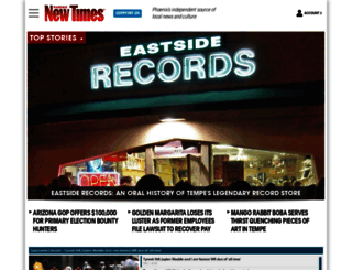 phoenixnewtimes.com screenshot