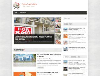 phoenixpropertymaster.com screenshot