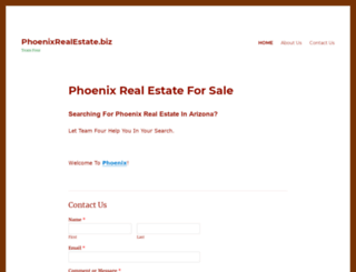phoenixrealestate.biz screenshot