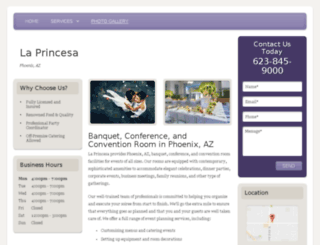 phoenixweddingsite.com screenshot