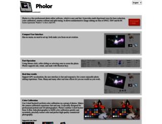 pholor.com screenshot