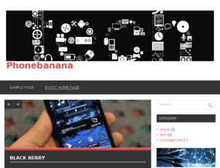 phonebanana.com screenshot