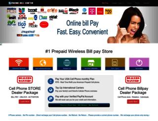 phonebillcenter.com screenshot