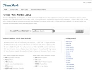 phonebook.bz screenshot