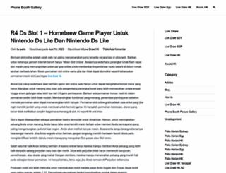 phoneboothgallery.com screenshot