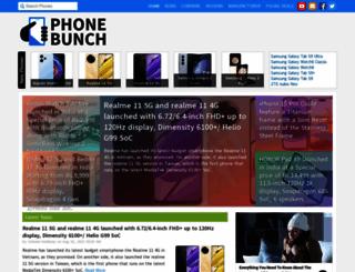 phonebunch.com screenshot