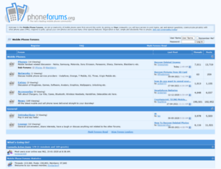 phoneforums.org screenshot