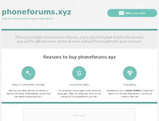 phoneforums.xyz screenshot