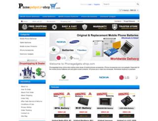 phonegadgets-shop.com screenshot