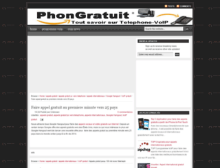 phonegratuit.blogspot.com screenshot