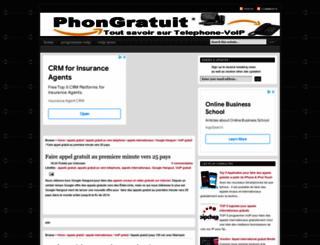 phonegratuit.blogspot.com screenshot