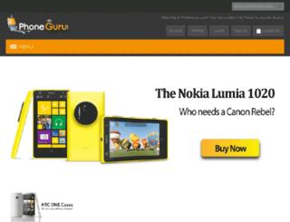 phoneguru.com screenshot