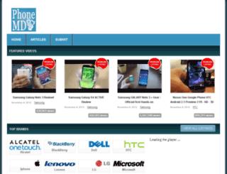 phonemd.org screenshot