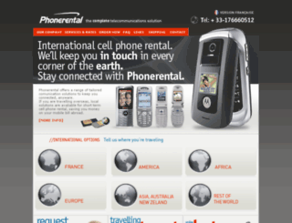 phonerentalfrance.com screenshot