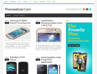 phonesellular.com screenshot