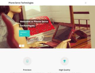 phoneserve.net screenshot
