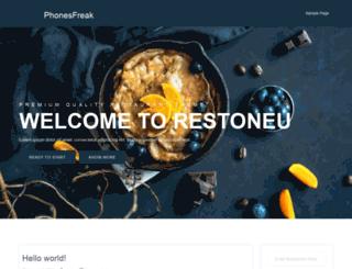 phonesfreak.com screenshot