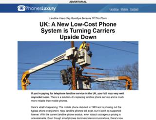 phonesluxury.com screenshot