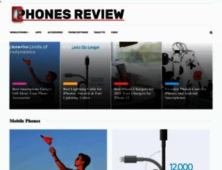 phonesreview.co.uk screenshot