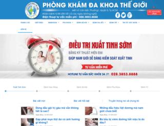 phongkhamdakhoathegioi.vn screenshot