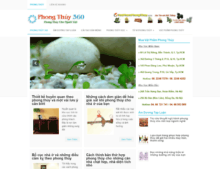 phongthuy360.com screenshot