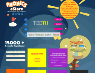 phonicsestore.com screenshot