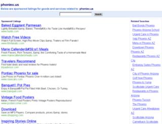phoniex.us screenshot