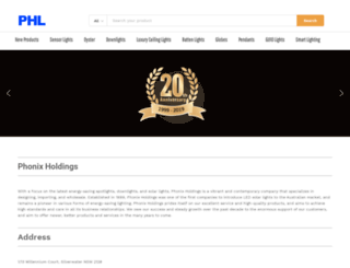 phonixholdings.com.au screenshot