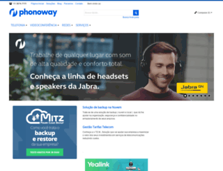 phonoweb.com.br screenshot