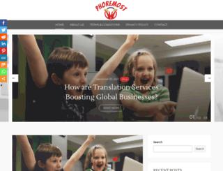 phoremost.org screenshot