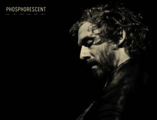 phosphorescentmusic.com screenshot