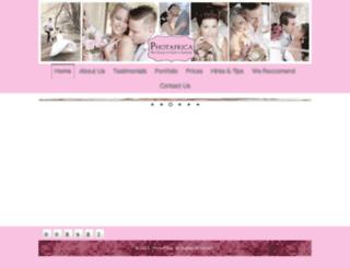 photafrica.co.za screenshot