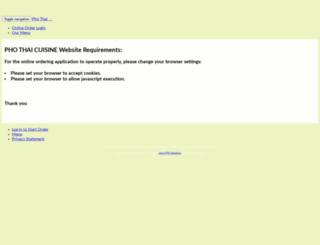 phothaicuisine.carry-out.com screenshot