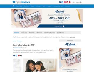 photo-book-review.toptenreviews.com screenshot