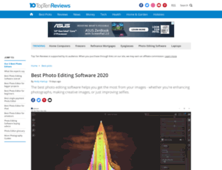 photo-editing-software-review.toptenreviews.com screenshot