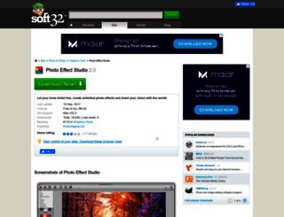 photo-effect-studio.soft32.com screenshot