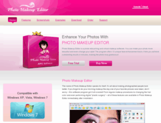 photo-makeup-software.com screenshot