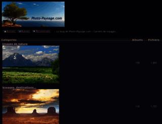 photo-paysage.com screenshot
